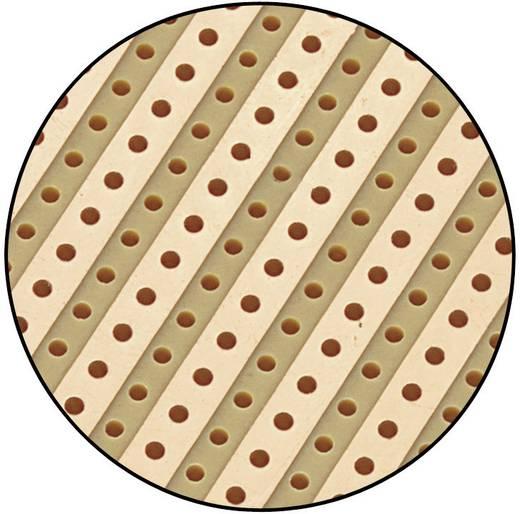 Europlatine Hartpapier (L x B) 90 mm x 50 mm 35 µm Rastermaß 5.08 mm Conrad Components SU527610 Inhalt 1 St.