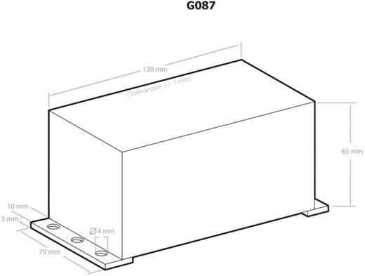 Universal-Gehäuse 120 x 70 x 65 Kunststoff Schwarz Kemo G087 1 St.