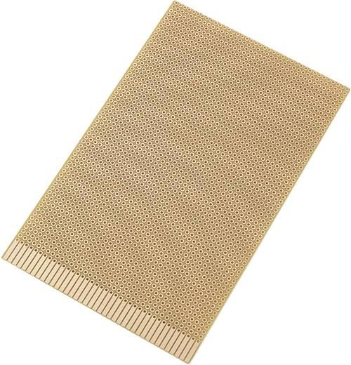 Europlatine Hartpapier (L x B) 160 mm x 100 mm 35 µm Rastermaß 2.54 mm Conrad Components SU527661 Inhalt 1 St.