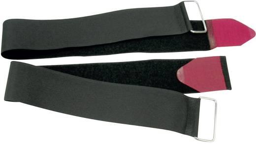 Klettband mit Gurt Haft- und Flauschteil (L x B) 350 mm x 20 mm Schwarz, Rot Fastech 687-330M-Bag 2 St.
