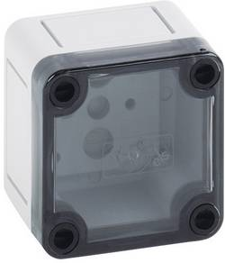 Instalační krabička Spelsberg TK PS 77-6-t, (d x š x v) 65 x 65 x 57 mm, polykarbonát, polystyren (EPS), šedá, 1 ks