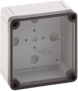 Instalační krabička Spelsberg TK PS 1111-7-t, (d x š x v) 110 x 110 x 66 mm, polykarbonát, polystyren (EPS), šedá, 1 ks