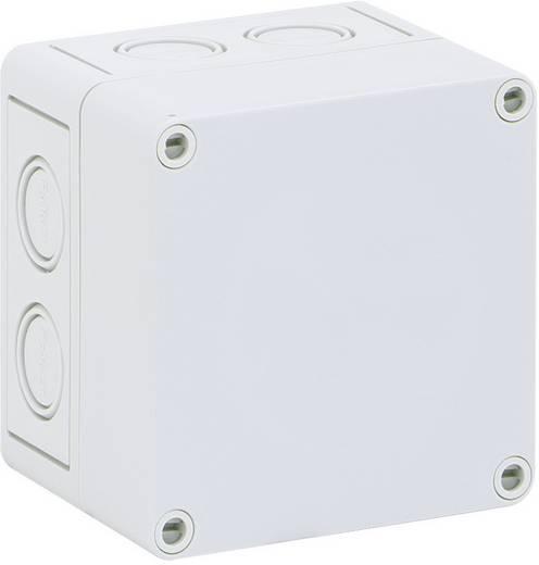 Reihenklemmen-Gehäuse 94 x 94 x 57 Polystyrol (EPS) Grau Spelsberg RKK 4/08-8x4² 1 St.