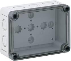 Instalační krabička Spelsberg TK PS 1309-6-tm, (d x š x v) 130 x 94 x 57 mm, polykarbonát, polystyren (EPS), šedá, 1 ks