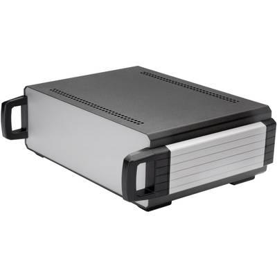 Tisch-Gehäuse 150 x 140 x 70 Aluminium Anthrazit Axxatronic CDIC00001-CON 1 St. Preisvergleich