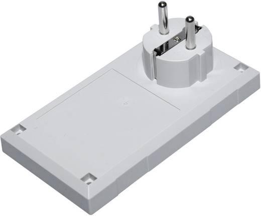 Stecker-Gehäuse 125 x 67 x 50 Polycarbonat, ABS Licht-Grau Conrad Components ESU 1200 E/CEE 1 St.