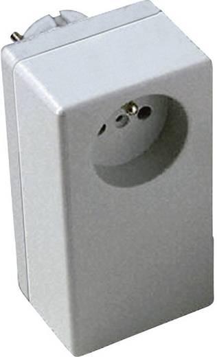 Stecker-Gehäuse 125 x 67 x 50 Polycarbonat, ABS Licht-Grau Conrad Components ESO 1250 E 1 St.