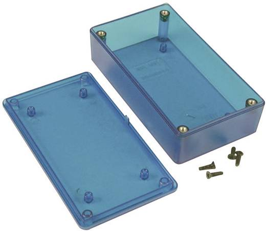 Universal-Gehäuse 123 x 83 x 59 ABS Blau (transparent) Hammond Electronics 1591XXTTBU 1 St.