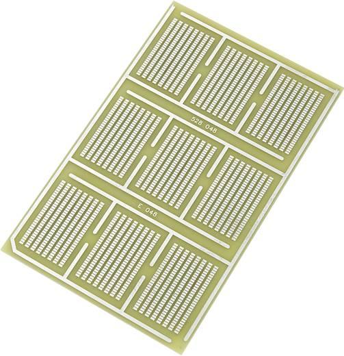 Conrad Components SU528048 SMD-Europlatine Epoxyd (L x B) 160 mm x 100 mm 35 µm Rastermaß 1.27 mm Inhalt 1 St.
