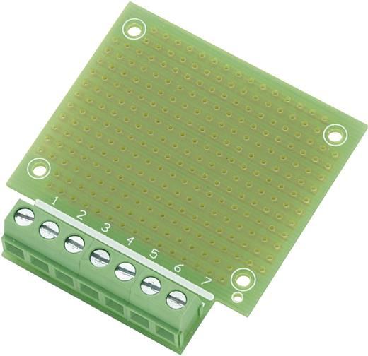 Experimentierplatine Epoxyd (L x B) 53.8 mm x 49.9 mm Rastermaß 2.54 mm Conrad Components SU529016 Inhalt 1 St.