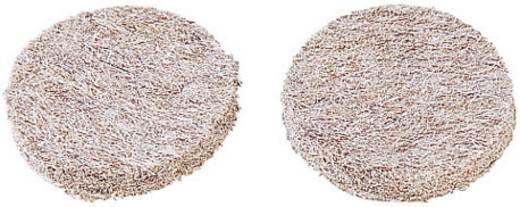 Filzgleiter Beige (Ø x H) 20 mm x 3 mm PB Fastener PR 1645 10 St.