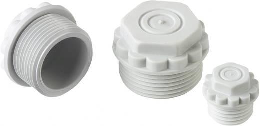 Verschlussschraube mit durchstoßbarer Membran M25 Polystyrol (EPS) Licht-Grau (RAL 7035) LappKabel SKINDICHT® M25 1 St