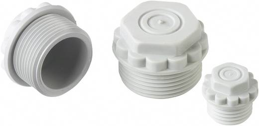 Verschlussschraube mit durchstoßbarer Membran M32 Polystyrol (EPS) Licht-Grau (RAL 7035) LappKabel SKINDICHT® WN-M32 x 1,5 1 St.