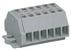 Barrette à bornes WAGO 260-106 5 mm ressort de traction Affectation des prises: L gris 50 pc(s)