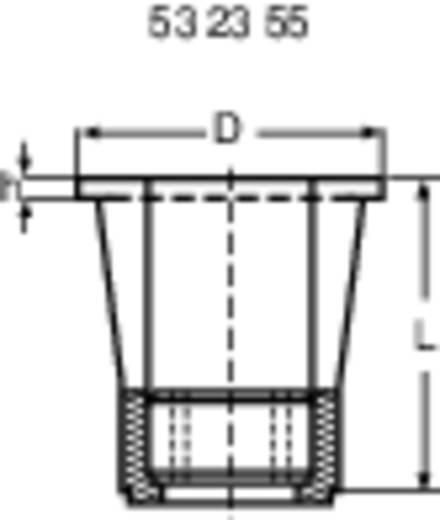 Blindmutter Polyamid (Ø x H) 9.4 mm x 0.4 mm 02.13.040 1 St.