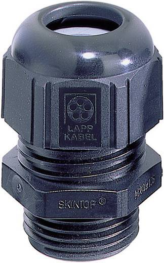 Kabelverschraubung M12 Polyamid Schwarz (RAL 9005) LappKabel SKINTOP® STR-M12 1 St.