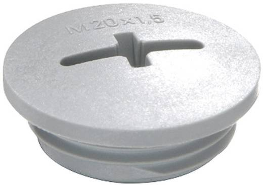 Verschlussschraube M12 Polyamid Silber-Grau (RAL 7001) Wiska EVSG M12 RAL 7001 1 St.