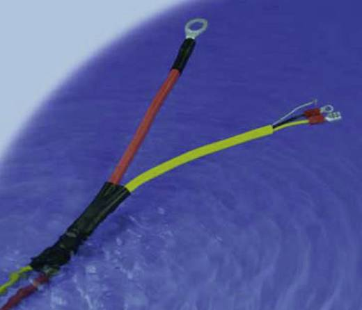 Schrumpfschlauch mit Kleber Schwarz 9 mm Schrumpfrate:3:1 DSG Canusa 6110090953 Meterware