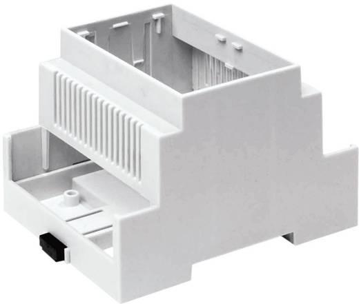 Hutschienen-Gehäuse 90 x 106 x 58 Polycarbonat Axxatronic CNMB-6V-KIT-CON 1 St.