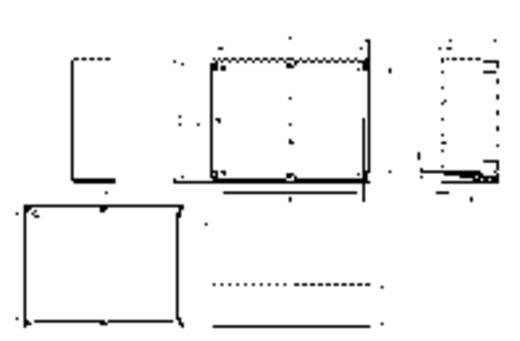 Installations-Gehäuse 302 x 232 x 110 Polycarbonat Licht-Grau (RAL 7035) Spelsberg TG PC 3023-11-to 1 St.