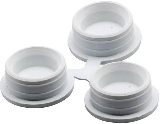 Blindstopfen ABS Licht-Grau (RAL 7035) Fibox FEP 26150 3 St.
