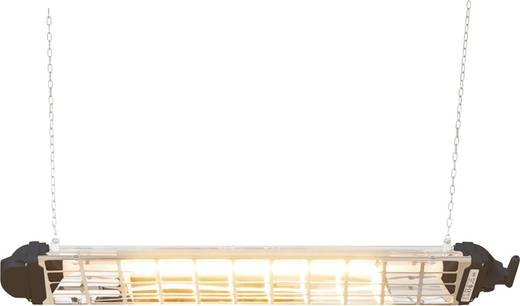 Mo-el FIORE 1800 Halogen-IR-Strahler 1800 W 9 m² Schwarz