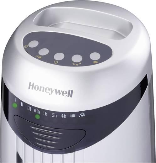 Honeywell HO-1100RE Turmventilator 45 W (Ø x H) 28.5 cm x 76 cm Silber, Schwarz