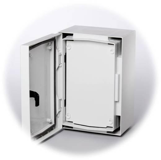 Frontplatte geschlossen (L x B) 279 mm x 162 mm Kunststoff Grau (RAL 7035) Fibox FP 3020-D 1 St.