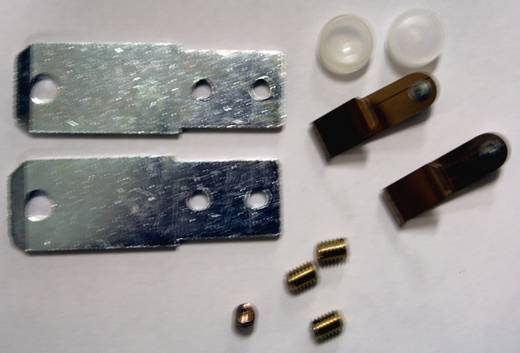 Scharnier Kunststoff Grau (RAL 7035) Fibox MB CAB 1 St.