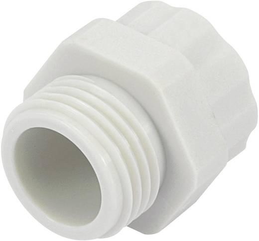 Kabelverschraubung Adapter PG13.5 M16 Polyamid Licht-Grau (RAL 7035) KSS PR1316GY4 1 St.
