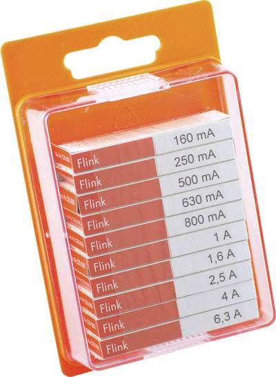Micro fuse set (Ø x L) 5 mm x 20 mm quick response F-