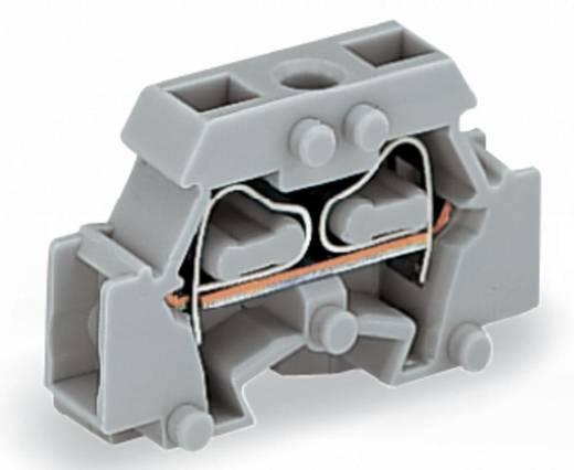 Einzelklemme 6 mm Zugfeder Belegung: L Grau WAGO 261-411 200 St.