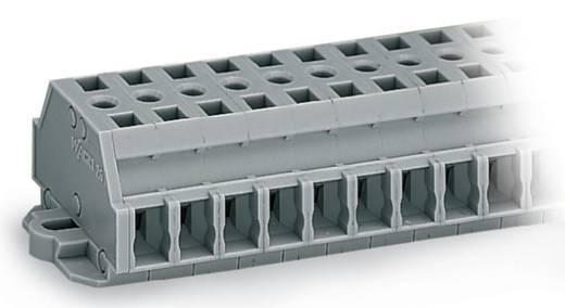 Klemmenleiste 6 mm Zugfeder Belegung: L Grau WAGO 261-432 25 St.