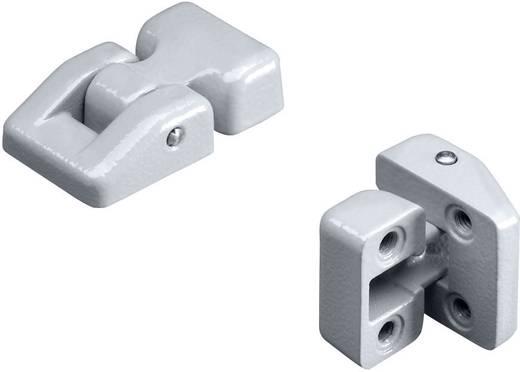 Scharnier Aluminium Grau (RAL 7001) Rittal 9123000 2 St.