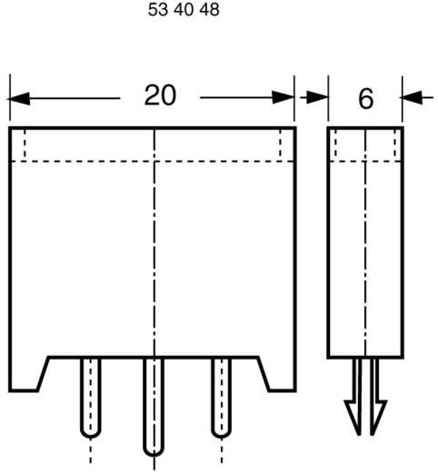 Sicherungshalter Passend für Flachsicherung Standard 20 A 32 V/DC ESKA 380.000 1 St.