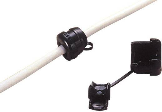 Zugentlastung Klemm-Ø (max.) 9.2 mm Polyamid Schwarz KSS SRR6R3 1 St.