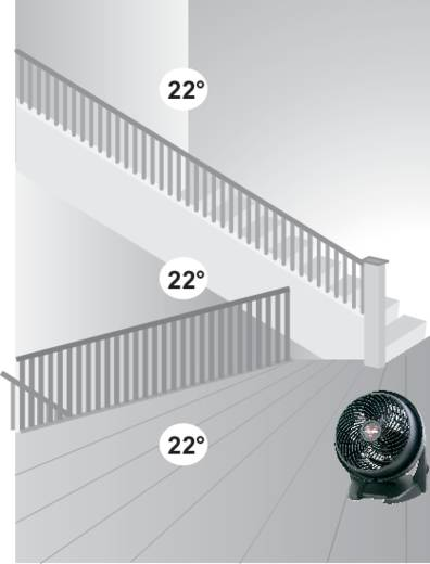 Bodenventilator Vornado 630 60 W (Ø x H) 26 cm x 34.5 cm