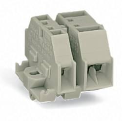 Borne d'extrémité WAGO 262-180 7 mm ressort de traction Affectation des prises: L gris 100 pc(s)