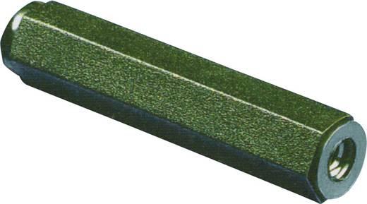 Abstandsbolzen 2 x Innengewinde M4 Polyamid Abstandsmaß 25 mm 1 St.