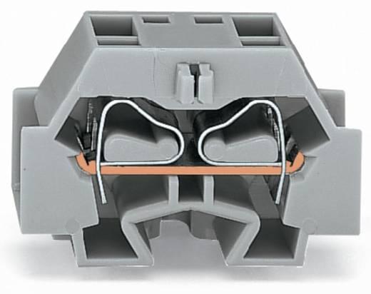 Einzelklemme 12 mm Zugfeder Belegung: L Grau WAGO 262-351 100 St.