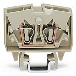 Bloc de jonction traversant WAGO 264-120 6 mm ressort de traction Affectation des prises: L gris 100 pc(s)