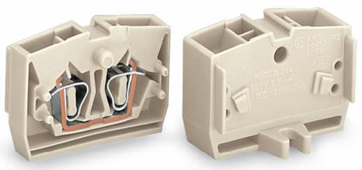 Einzelklemme 6 mm Zugfeder Belegung: L Grau WAGO 264-130 100 St.