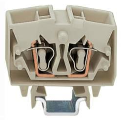 Bloc de jonction traversant WAGO 264-220 10 mm ressort de traction Affectation des prises: L gris 100 pc(s)