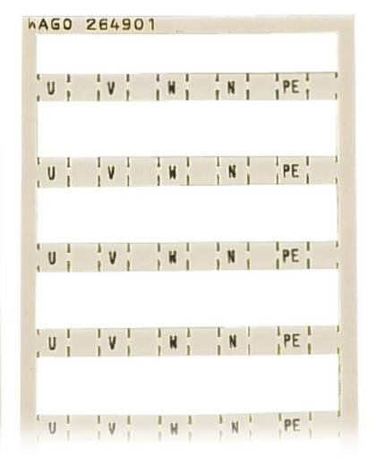 Mini-WSB-Schnellbeschriftungssystem 264-901 WAGO Inhalt: 5 St.
