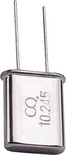 Quarzkristall 168785 HC-49/U 100 MHz 32 pF (L x B x H) 4.7 x 11.1 x 13.46 mm