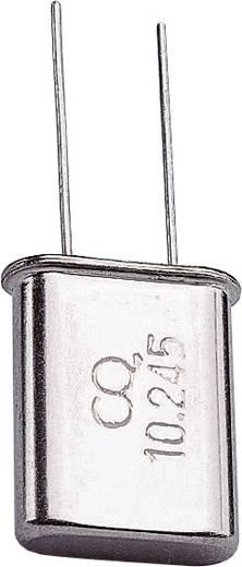 Quarzkristall TRU Components 535079 HC-49/U 10.245 MHz 32 pF (L x B x H) 4.7 x 11.1 x 13.46 mm