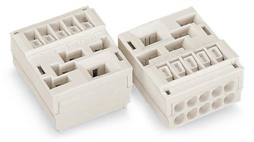 Verbindungsklemme starr: 1.5-2.5 mm² Polzahl: 3 WAGO 50 St. Weiß
