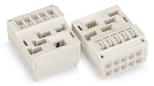 Verbindungsklemme starr: 1.5-2.5 mm² Polzahl: 5 WAGO 50 St. Weiß