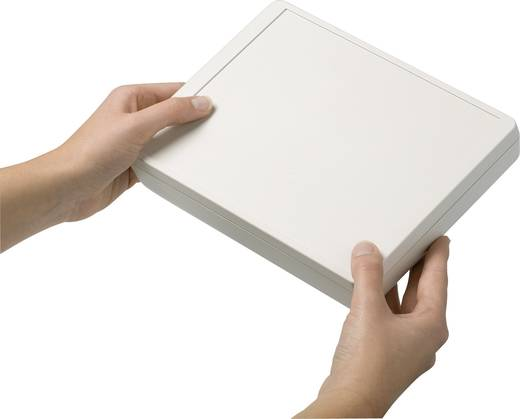 Pult-Gehäuse 166 x 225 x 48 Kunststoff Grau-Weiß (RAL 9002) OKW D4044137 1 Set