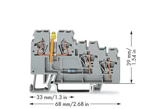 Aktorenklemme 5 mm Zugfeder Belegung: L Grau WAGO 270-585/281-507 50 St.